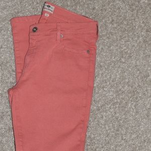Fossil Super Skinny Coral Jeans